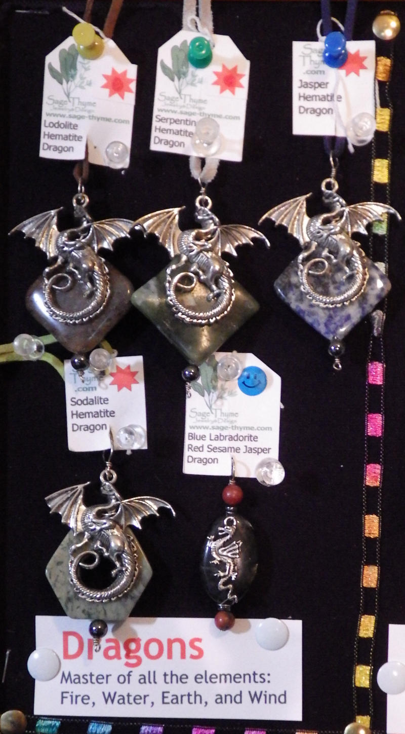 Spirit symbol guide sage thyme jewelry design dragon biocorpaavc Image collections